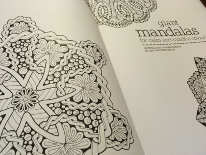 Giant Mandalas Front Inside Page