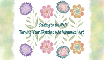 Turning Your Sketches into Whimsical Art Course JSPCREATE