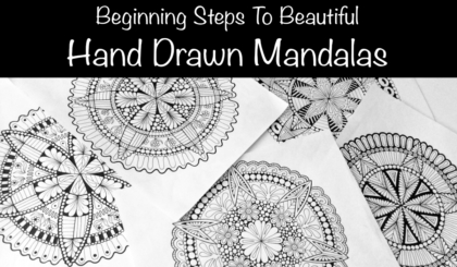 Beginning Steps To Beautiful Hand Drawn Mandalas Course JSPCREATE