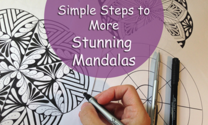 Simple Steps To More Stunning Mandalas Course JSPCREATE