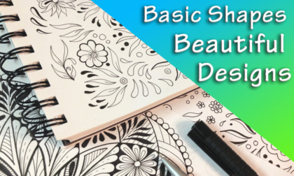 Basic Shapes Beautiful Designs JSPCREATE Course