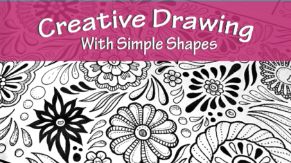 Creative Drawing With Simple Shapes Course JSPCREATE