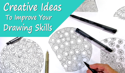 Creative Ideas To Improve Your Drawing Skills Course JSPCREATE