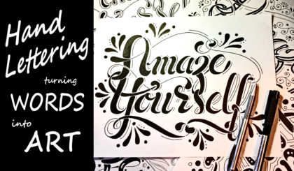 Hand Lettering Turning Words into Art Course JSPCREATE
