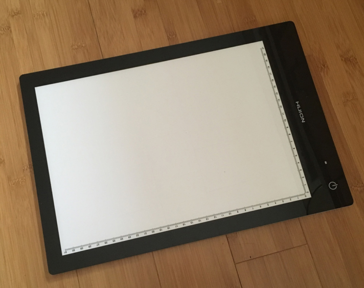 Huion LED Rechargeable Light Pad favorite thing