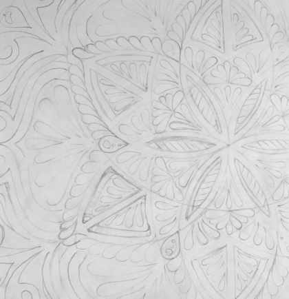 detail drawing 2 mandala