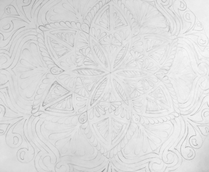 detail sketch mandala