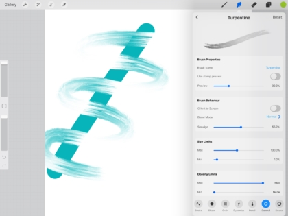 Blender brush or smudge tool in procreate on ipad pro jspcreate now for the advantage of a blender brush over the smudge tool with a pre existing brush in the example below i have used the brush tool with the turpentine sciox Gallery