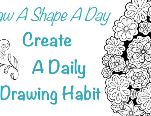 Create A Daily Drawing Habit with Draw A Shape A Day