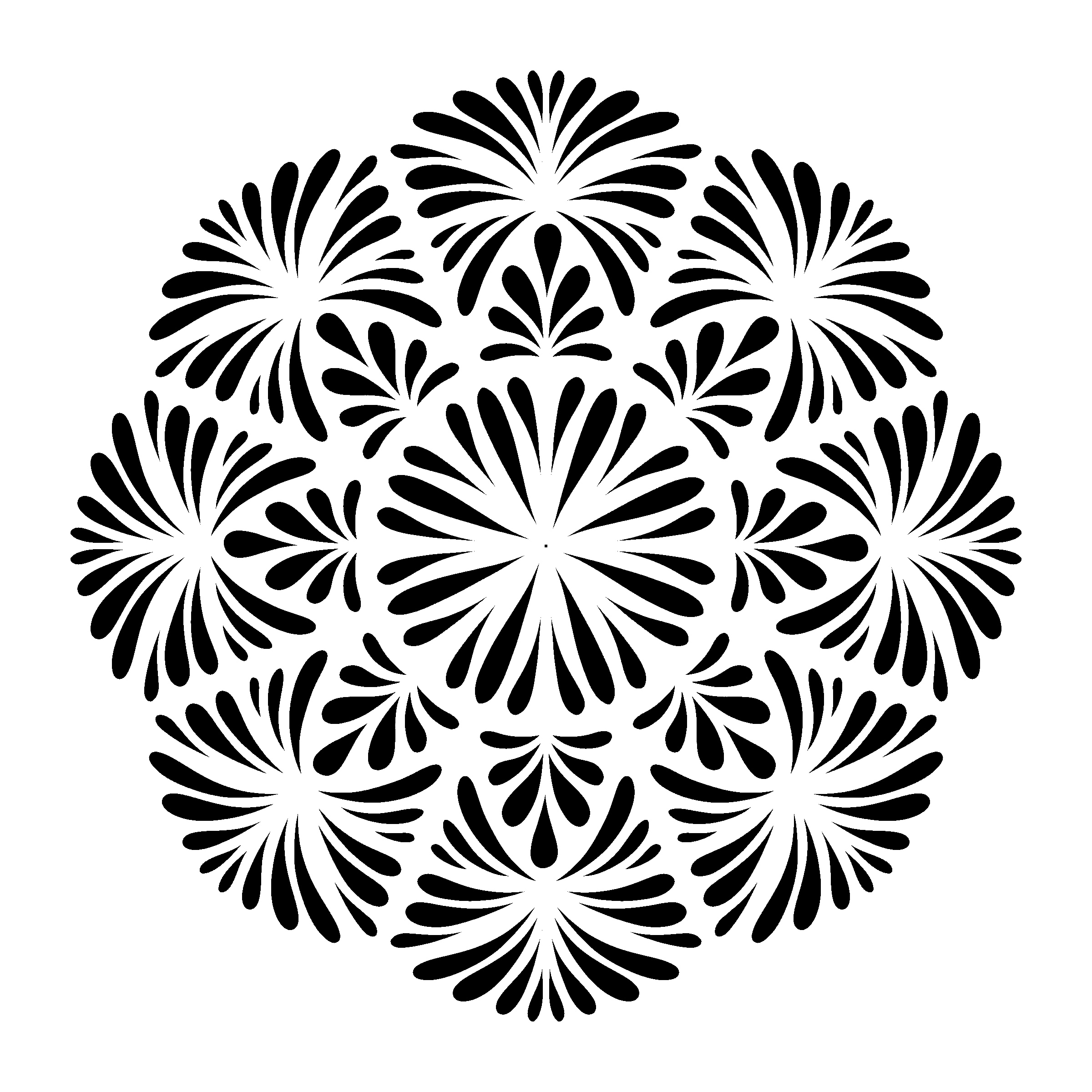 How to Draw A Mandala with One Simple Shape - JSPCREATE